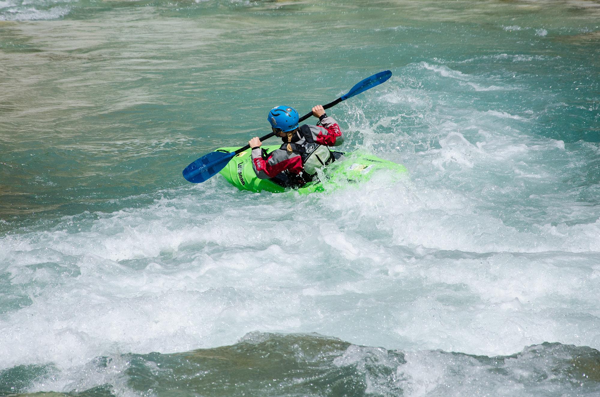 kayak on kalaritikos river